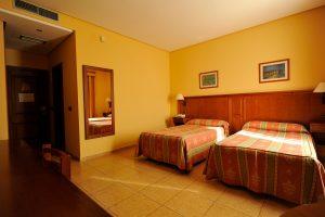 habitacion doble twin hotel lozano